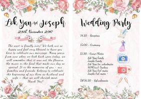 Wedding Party rundown