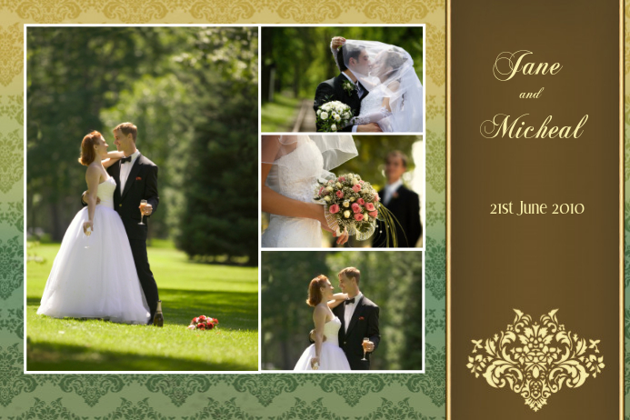Wedding Collage Template | PosterMyWall