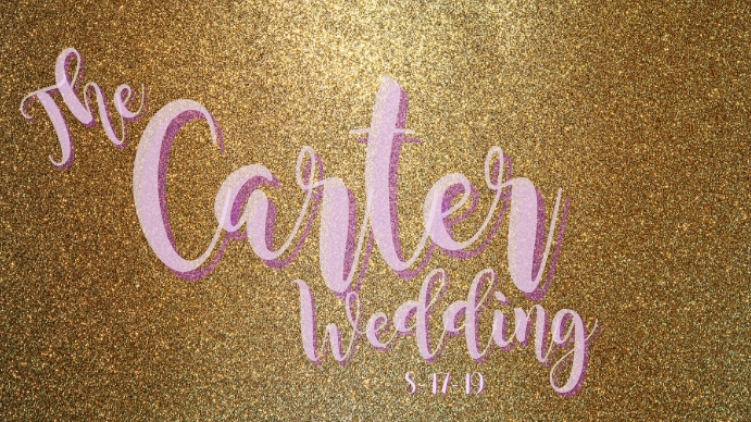 WEDDING PHOTOBOOTH SCREEN Digitale display (16:9) template