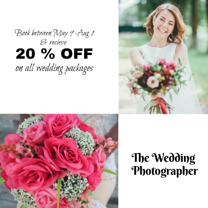 Wedding Photographer Instagram Template