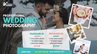 Wedding Photography Ad Сообщение Twitter template