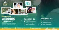Wedding Photography ads Facebook Shared Image template