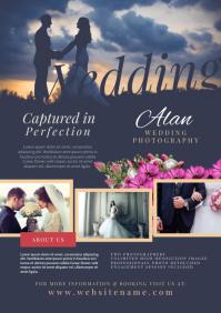 Wedding Photography Flyer A4 template