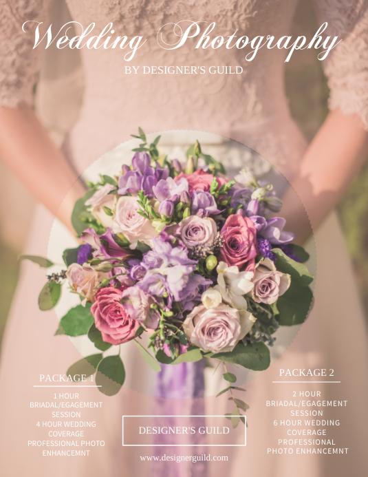 Wedding Photography Flyer Templates