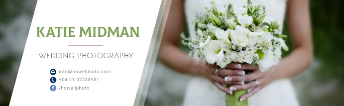 Wedding Photography LinkedIn Career Cover Pho template