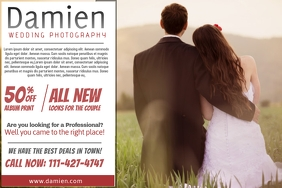 Wedding Photography Poster Template