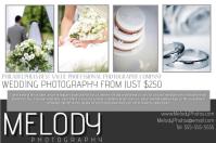 Wedding Photography Cartaz template