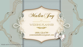 Wedding Planner Business Cards Template