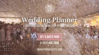 Wedding Planner Digitalt display (16:9) template