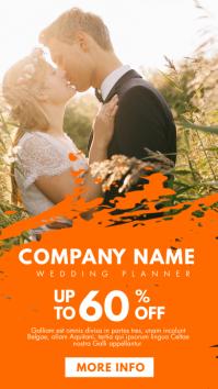 wedding planner instagram story advertisement template