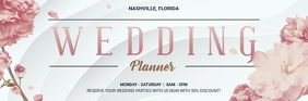Wedding Planner Special Offer Email Header template