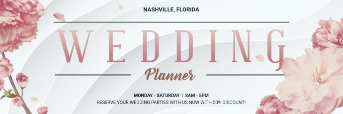 Wedding Planner Special Offer Email Header E-Mail-Überschrift template