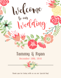 Create High Quality Wedding Posters Postermywall