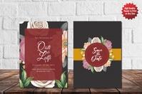 Wedding Poster template