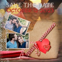 Wedding Save The Date Instagram Template