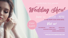 Wedding Show Facebook Cover Video