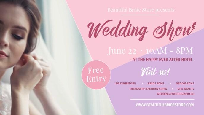 Wedding Show Facebook Cover Video