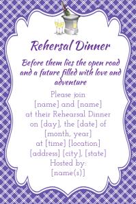 Wedding Shower invitation announcement