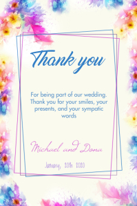 Wedding thank you 2