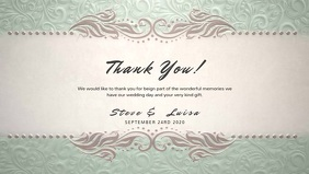 Wedding Thank You Video Template