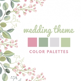 Wedding Theme Instagram Post template