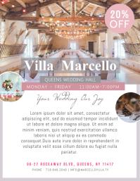 Wedding Venue Flyer Template