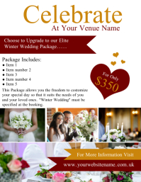 Wedding Venue Special Flyer Template