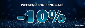 Weekend Sale Discount % Offer Special Shop Ad Isihloko Se-imeyili template