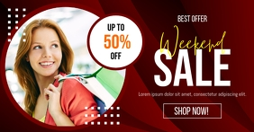 Weekend Sale Social Media Post Template