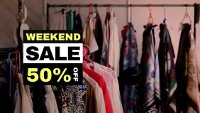 Weekend Sale Video Template