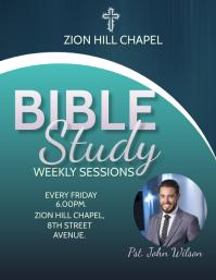 Weekly Bible Study Flyer