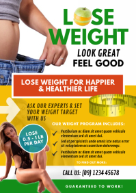 Weight Loss Program Flyer