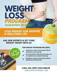 Weight Loss Program Flyer