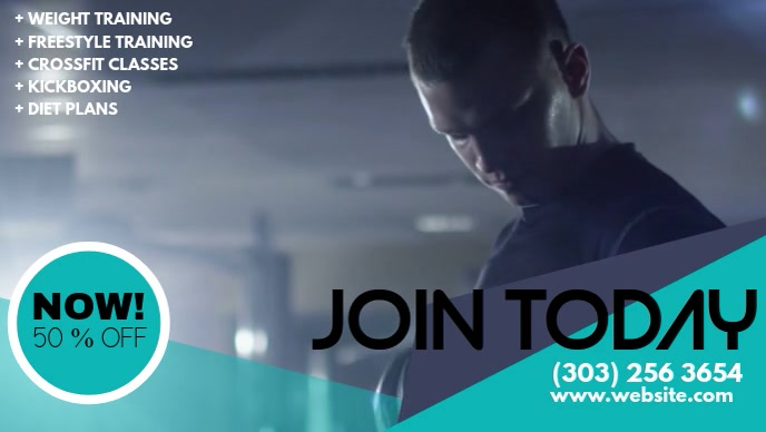 Weight Training Gym Video Template
