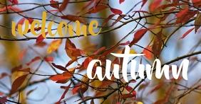 Welcome Autumn Image partagée Facebook template