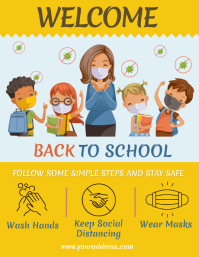 Welcome Back to School Flyer Template