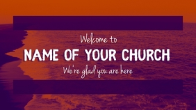 Welcome Church Poster