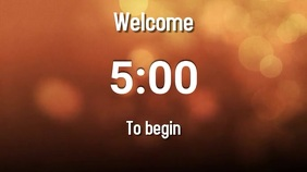 welcome countdown