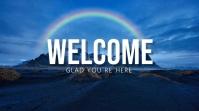 Welcome Présentation (16:9) template