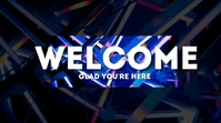 Welcome Display digitale (16:9) template