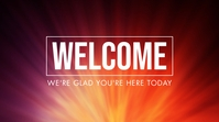 Welcome Presentation (16:9) template