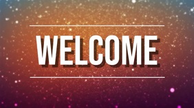 welcome Tampilan Digital (16:9) template