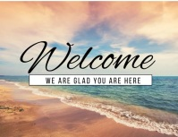 WELCOME Flyer (US Letter) template