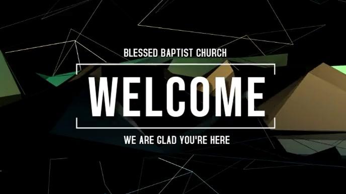 Welcome งานแสดงผลงานแบบดิจิทัล (16:9) template