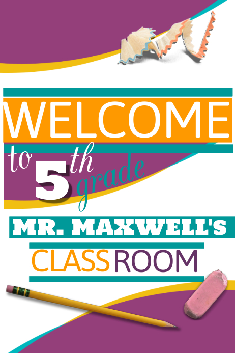 Welcome Flyer Template Postermywall