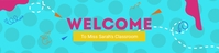 Welcome Google Classroom Banner template