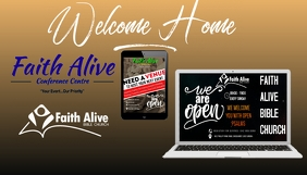 Welcome Home Koptekst blog template