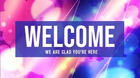 Welcome POSTER Digital Display (16:9) template