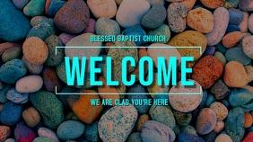 Welcome Rocks Digital Display (16:9) template