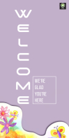 Welcome Roll up Banner template